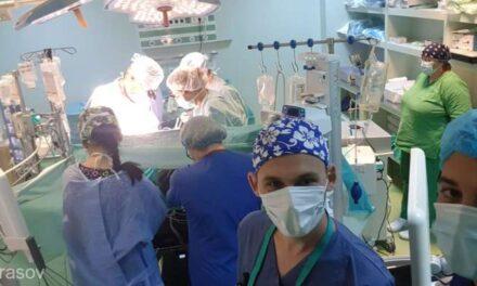 Braşov: Prima operaţie pe cord deschis, efectuată la Spitalul Judeţean